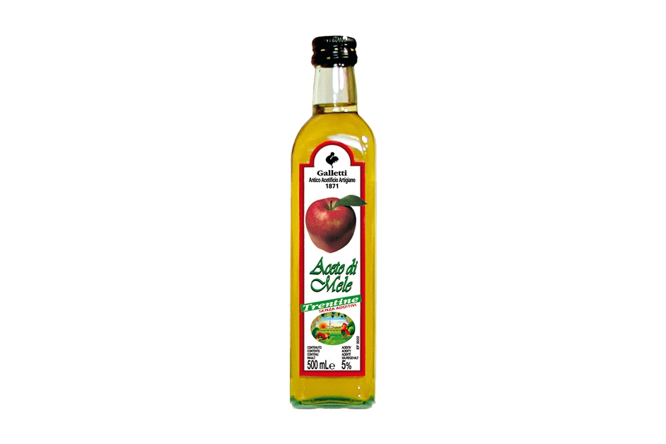 "Apple vinegar in Ligustro"" bottle"