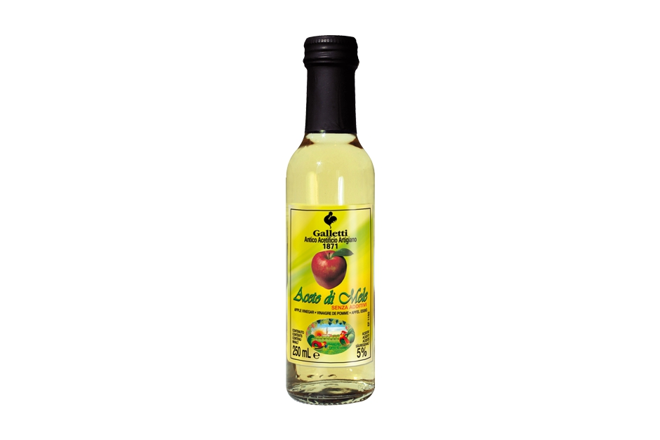 "Apple vinegar in ""Cesena"" bottle"