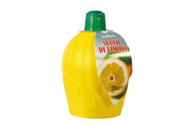 "Lemon juice in ""PE"" bottle ""small"""