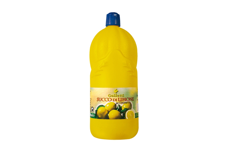 "Lemon juice in ""PE"" bottle ""big"""