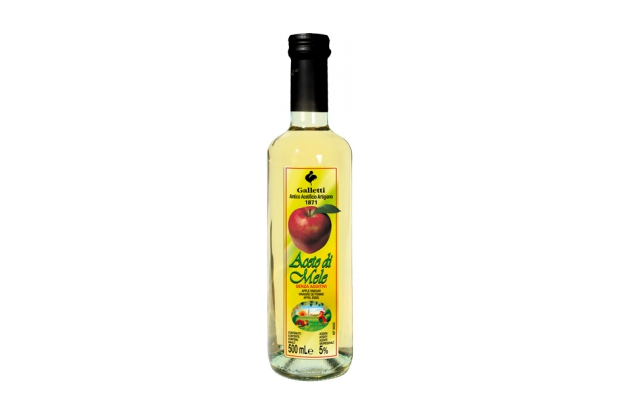 "Apple vinegar in ""Rossini"" bottle"