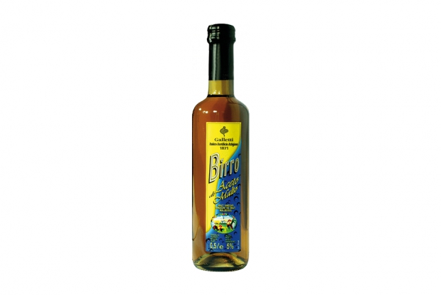 "Malt vinegar ""Birro"" in ""Rossini"" bottle"