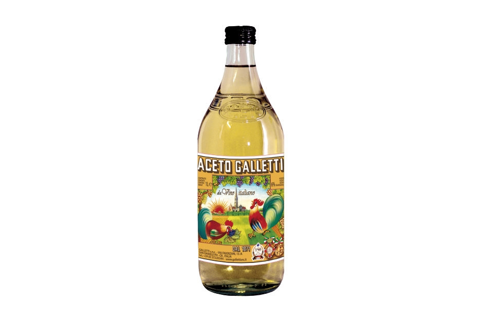 "White wine vinegar in ""Standard"" bottle"