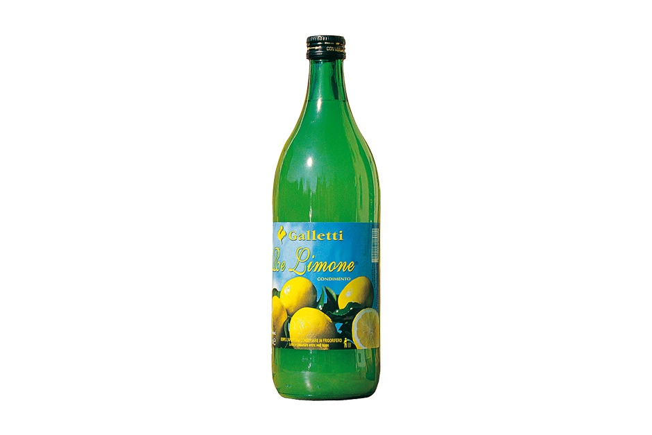 "Lemon juice in ""Standard"" bottle"